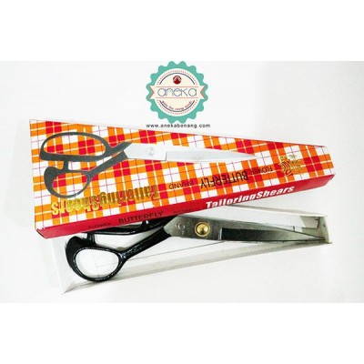 ANK - Gunting Tailoring Shears Butterfly