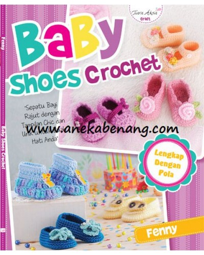 Buku Baby Shoes Crochet