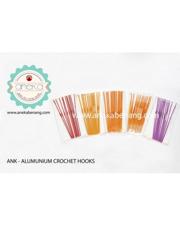 ANK - Aluminium Crochet Hook - Pcs