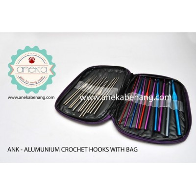 ANK - Alumunium Crochet Hook With Bag
