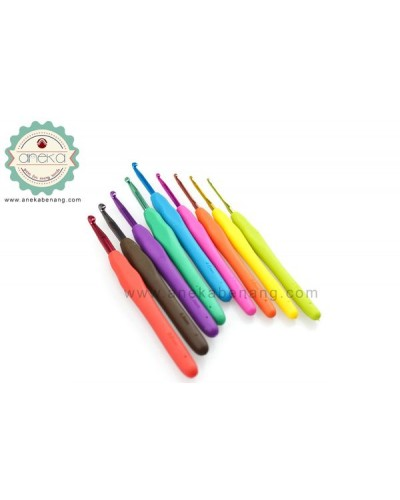 ANK - Hakpen Gagang Karet 9 sizes - Seri Rainbow