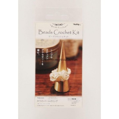 Tulip - White Pearl Ring Kit