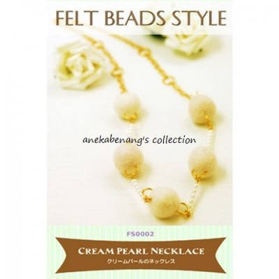 Tulip - Cream Pearl Necklace