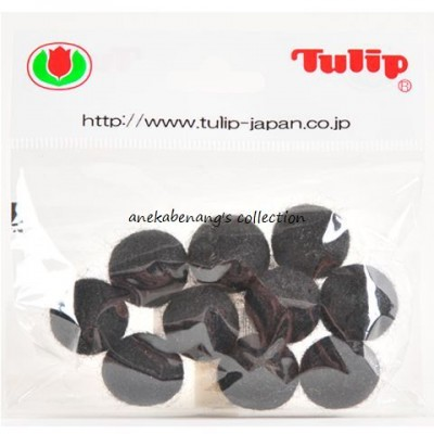 Tulip - 20 mm Felt Balls Black