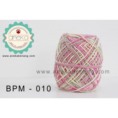 Benang Rajut Katun Big Ply Mambo / Sembur / Mix-color Cotton Yarn - 010
