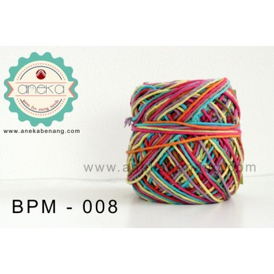 Benang Rajut Katun Big Ply Mambo / Sembur / Mix-color Cotton Yarn - 008