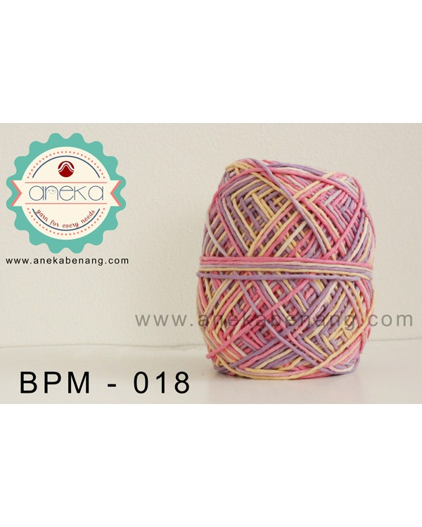 Benang Rajut Katun Big Ply Mambo / Sembur / Mix-color Cotton Yarn - 018
