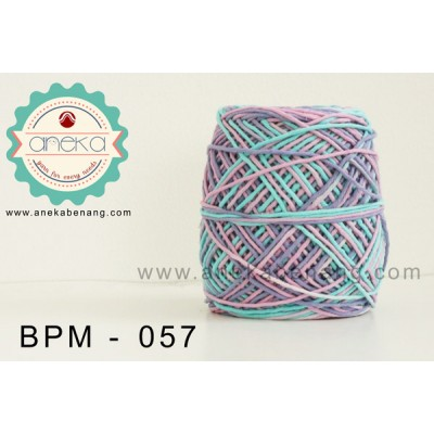Benang Rajut Katun Big Ply Mambo / Sembur / Mix-color Cotton Yarn - 057