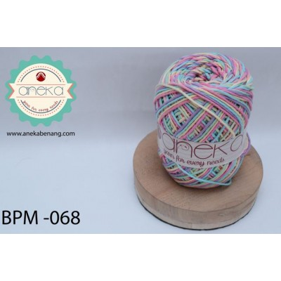 Benang Rajut Katun Big Ply Mambo / Sembur / Mix-color Cotton Yarn - 068