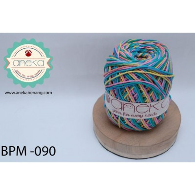 Benang Rajut Katun Big Ply Mambo / Sembur / Mix-color Cotton Yarn - 090