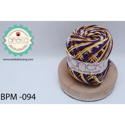 Benang Rajut Katun Big Ply Mambo / Sembur / Mix-color Cotton Yarn - 094