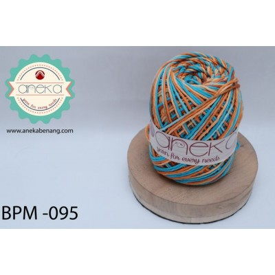 Benang Rajut Katun Big Ply Mambo / Sembur / Mix-color Cotton Yarn - 095