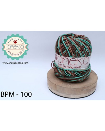 Benang Rajut Katun Big Ply Mambo / Sembur / Mix-color Cotton Yarn - 100