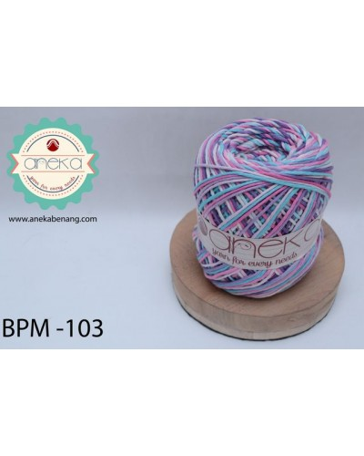 Benang Rajut Katun Big Ply Mambo / Sembur / Mix-color Cotton Yarn - 103