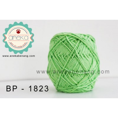 Benang Rajut Katun Big Ply / Cotton Yarn - 1823 ( Hijau Muda )