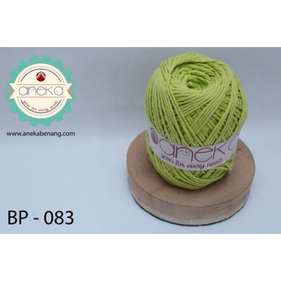 Benang Rajut Katun Big Ply / Cotton Yarn - 083 ( Leaf Green )