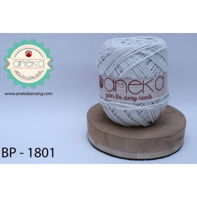 Benang Katun Big Ply / Cotton Yarn - 1801 (Putih)