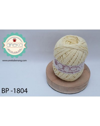Benang Rajut Katun Big Ply / Cotton Yarn - 1804 ( Kuning Baby )