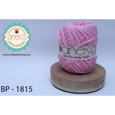 Benang Rajut Katun Big Ply / Cotton Yarn - 1815 ( Pink Muda )