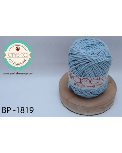 Benang Rajut Katun Big Ply / Cotton Yarn - 1819 ( Biru Baby )