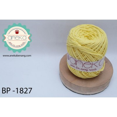 Benang Katun Big Ply / Cotton Yarn - 1827 ( Kuning )