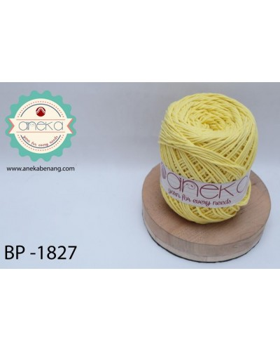 Benang Rajut Katun Big Ply / Cotton Yarn - 1827 ( Kuning )