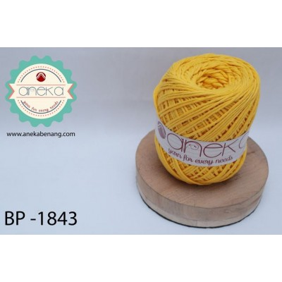 Benang Katun Big Ply / Cotton Yarn - 1843 ( Yellow )