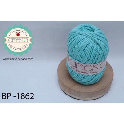 Benang Katun Big Ply / Cotton Yarn - 1862 ( Biru Muda )
