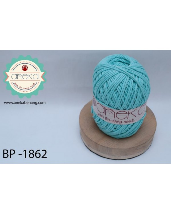 Benang Rajut Katun Big Ply / Cotton Yarn - 1862 ( Biru Muda )