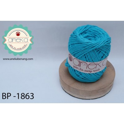 Benang Katun Big Ply / Cotton Yarn - 1863 ( Turkis )