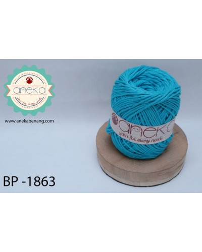 Benang Rajut Katun Big Ply / Cotton Yarn - 1863 ( Turkis )