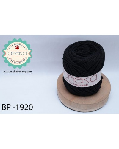 Benang Rajut Katun Big Ply / Cotton Yarn - 1920 ( Hitam )