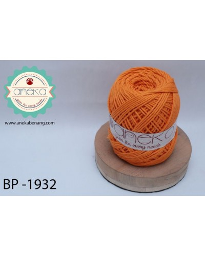 Benang Katun Big Ply / Cotton Yarn - 1932 ( Orange )