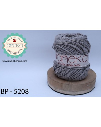 Benang Rajut Katun Big Ply / Cotton Yarn - 1867 ( Abu-abu )