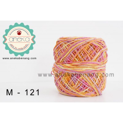 Benang Rajut Katun Mambo / Sembur / Mix-color Cotton Yarn - 121