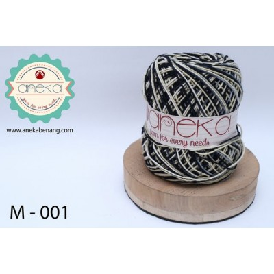 Benang Rajut Katun Mambo / Sembur / Mix-color Cotton Yarn - 001