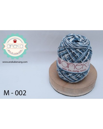 Benang Rajut Katun Mambo / Sembur / Mix-color Cotton Yarn - 002