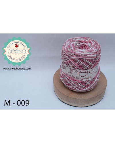 Benang Rajut Katun Mambo / Sembur / Mix-color Cotton Yarn - 009