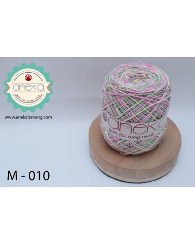 Benang Rajut Katun Mambo / Sembur / Mix-color Cotton Yarn - 010