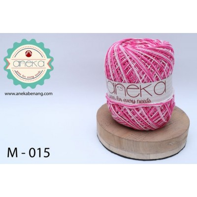 Benang Rajut Katun Mambo / Sembur / Mix-color Cotton Yarn - 015