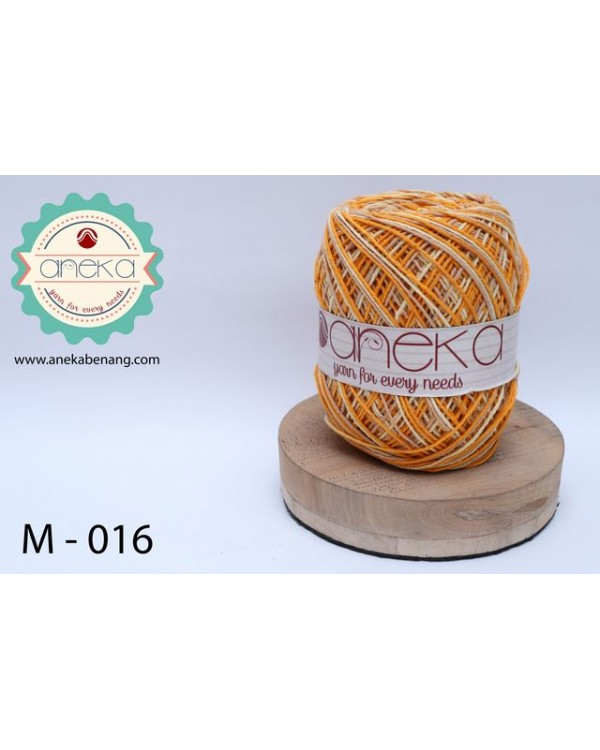 Benang Rajut Katun Mambo / Sembur / Mix-color Cotton Yarn - 016