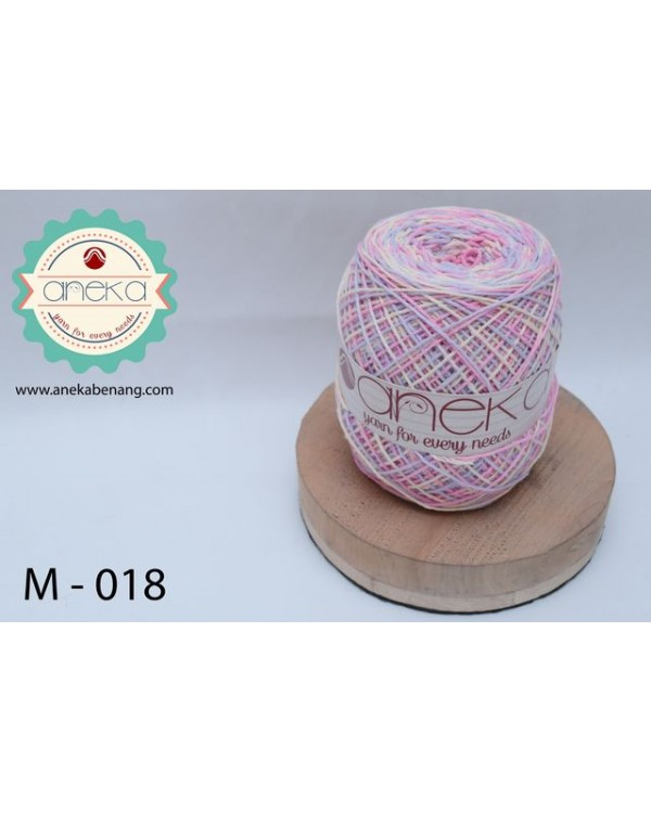 Benang Rajut Katun Mambo / Sembur / Mix-color Cotton Yarn - 018