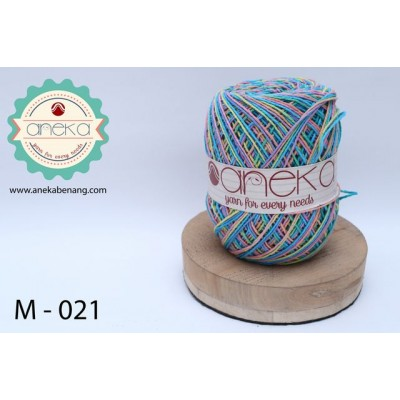 Benang Rajut Katun Mambo / Sembur / Mix-color Cotton Yarn - 021