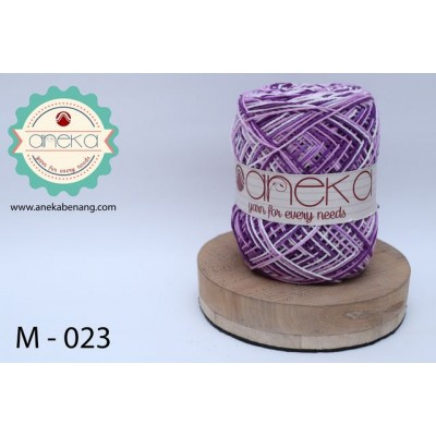 Benang Rajut Katun Mambo / Sembur / Mix-color Cotton Yarn - 023