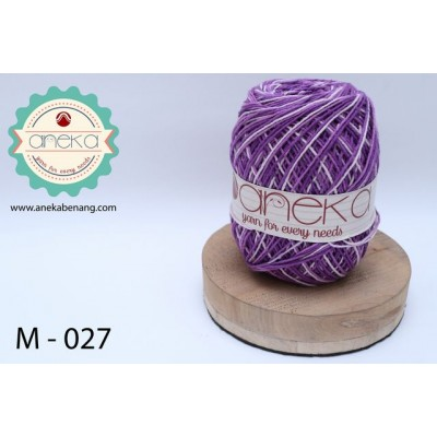 Benang Rajut Katun Mambo / Sembur / Mix-color Cotton Yarn - 027
