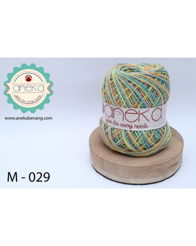 Benang Rajut Katun Mambo / Sembur / Mix-color Cotton Yarn - 029