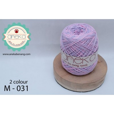 Benang Rajut Katun Mambo / Sembur / Mix-color Cotton Yarn - 031