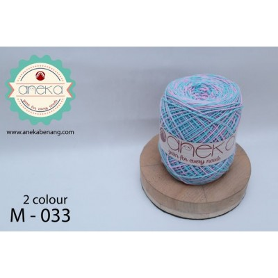 Benang Rajut Katun Mambo / Sembur / Mix-color Cotton Yarn - 033