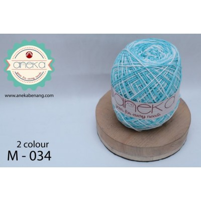 Benang Rajut Katun Mambo / Sembur / Mix-color Cotton Yarn - 034