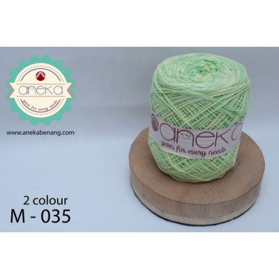 Benang Rajut Katun Mambo / Sembur / Mix-color Cotton Yarn - 035